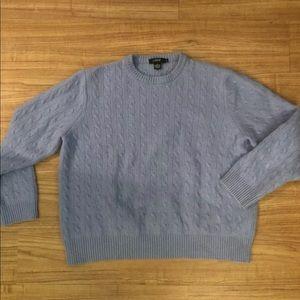 J Crew Women's Cashmere Crew Neck Sweater Size XL